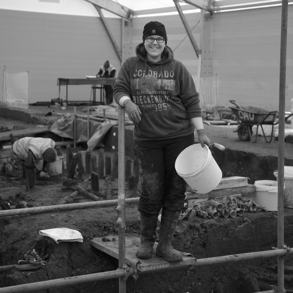 Archaeologist at Must Farm Aimee Adams-Johnston